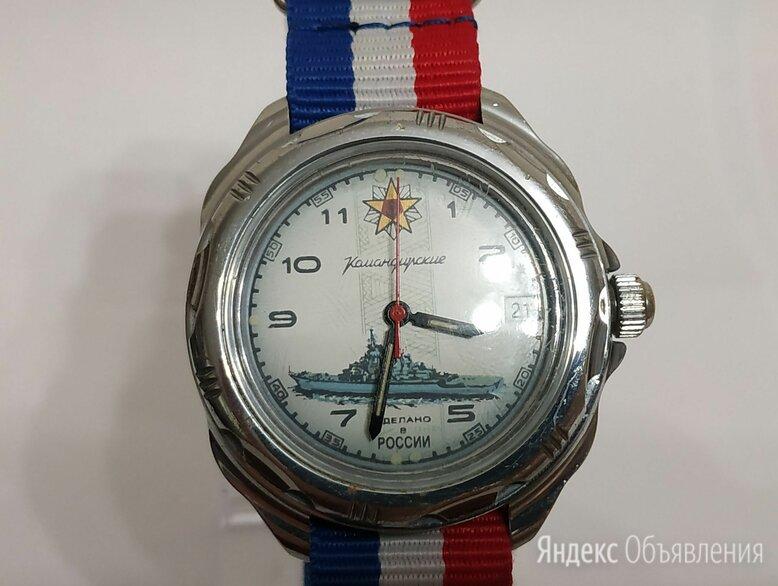 Часы Восток Командирские Корабль механика по цене 1400₽ - Наручные часы, фото 0