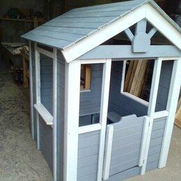 Игровые домики и палатки - Домик из дерева игровой на дачу, 0