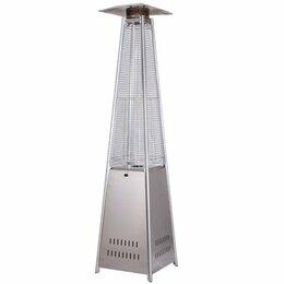 Уличные обогреватели - Газовый уличный обогреватель мощностью 1314 кВт Wwt 13I Stainless steel, 0