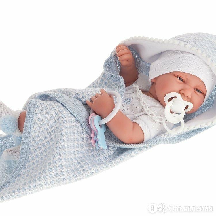 Кукла Луис в голубом, 42 см, 5037 ANTONIO JUAN по цене 10220₽ - Куклы и пупсы, фото 0