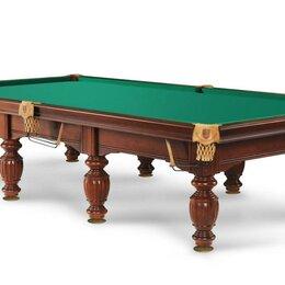Столы - Бильярдный стол Олимп Камень 30 мм сукно Кинг 12ф, 0