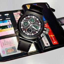 Наручные часы - Часы amst + Портмоне Baellerry, 0