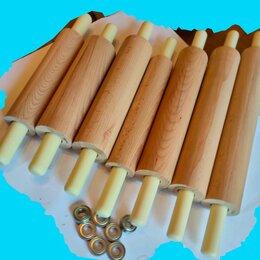 Скалки - Скалка из дерева длина - 25 см, диаметр - 7,7, 0