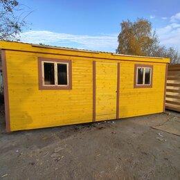 Готовые строения - Бытовка 6х2.30 распашонка А-713, 0