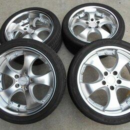 Шины, диски и комплектующие - Комплект колес Enkei 225/40R18 и 255/35R18, 5х114.3, 0