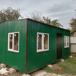 Готовые строения - Бытовка - модуль 6*4,8, 0