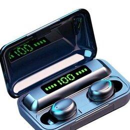 Портативная акустика - Bluetooth наушники с кейсом 2200 mAh, 0