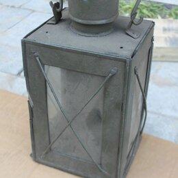 Другое - Старинный свечной фонарь 19 век, 0