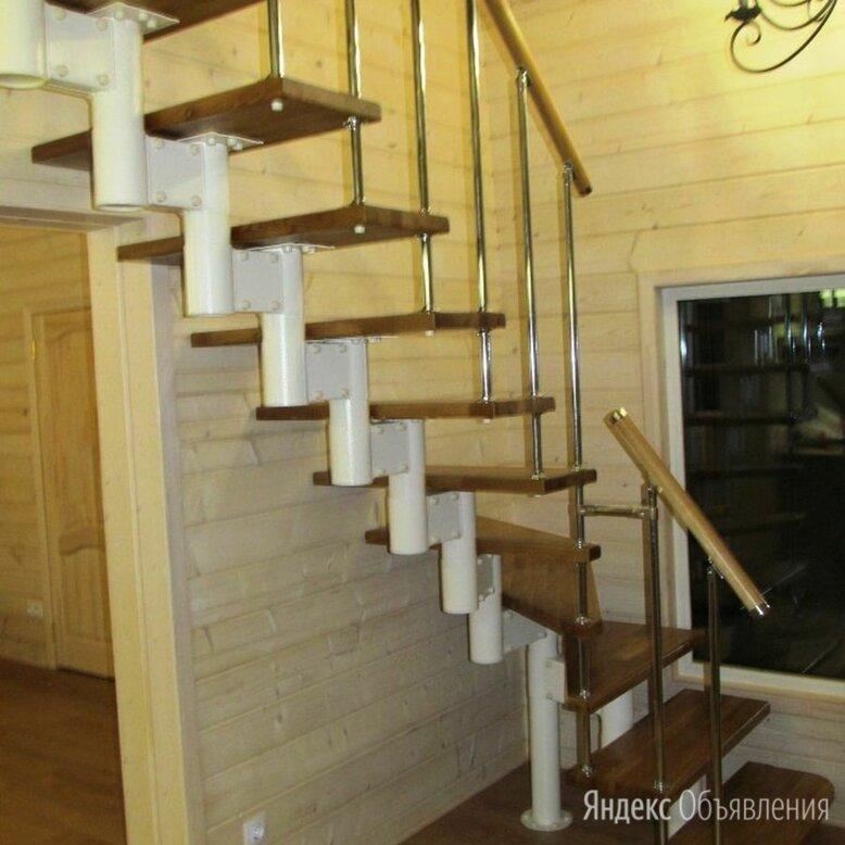 ЛЕСТНИЦА  НА ВТОРОЙ ЭТАЖ  МОДУЛЬНАЯ НА МЕТАЛЛОКАРКАСЕ   по цене 4000₽ - Лестницы и элементы лестниц, фото 0
