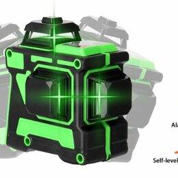 Измерительные инструменты и приборы - Зелёный лазерный уровень 360 12лучей, 0