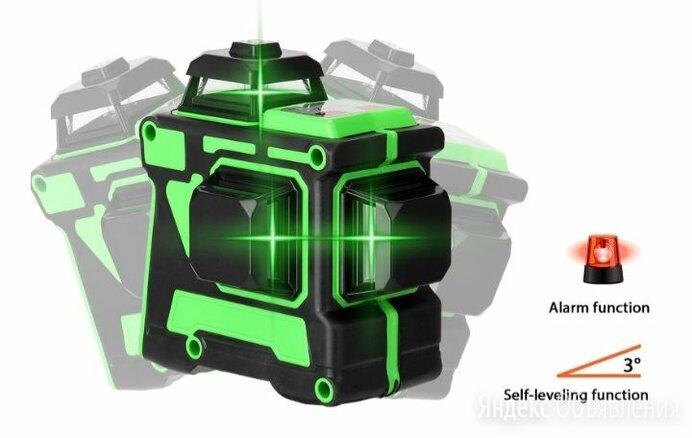 Зелёный лазерный уровень 360 12лучей по цене 3600₽ - Измерительные инструменты и приборы, фото 0