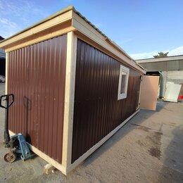 Готовые строения - Бытовка 6х2.30 цветной лист А-700, 0