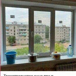 Окна - Трехстворчатое окно пвх в панельный дом Veka Softline 70 🇩🇪, 0