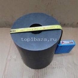 Изоляционные материалы - Фторопласт графитонасыщенный d-154, L170 , dотв-44, 6,26 кг, 0