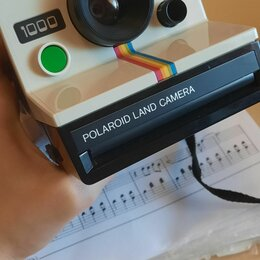 Фотоаппараты моментальной печати - Фотокамера polaroid land camera sx70, 0