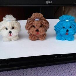 Рукоделие, поделки и сопутствующие товары - Очаровательные собачки игрушка, сувенир, 0