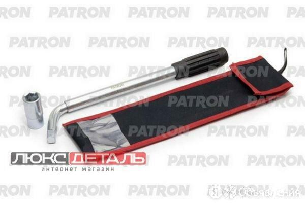 PATRON P6811719 Ключ баллонный телескопический с переставной головкой 17 х 19... по цене 547₽ - Рожковые, накидные, комбинированные ключи, фото 0