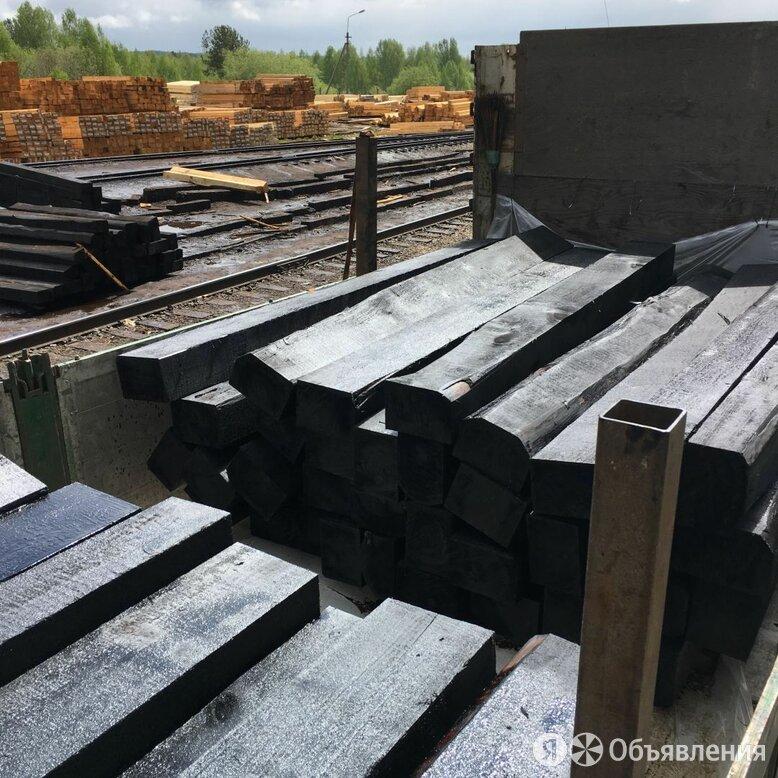 Деревянные пропитанные шпалы 1 и 2 тип по цене 2400₽ - Пиломатериалы, фото 0