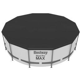 Тенты и подстилки - Тент для каркасных бассейнов, d=366 см, 58037 Bestway, 0