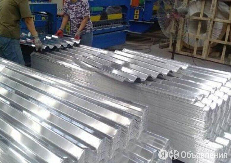 Профнастил алюминиевый НС35 0.7 мм по цене 618₽ - Металлопрокат, фото 0