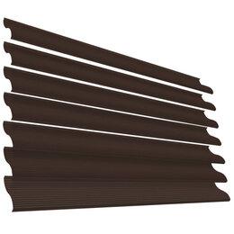 Заборы, ворота и элементы - Ламель Еврожалюзи RAL8017 Шоколад полиэфирная эмаль в цвет, 0