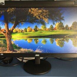 Мониторы - AOC E2270SWDN, 21.5 дюйм, Full HD, 0