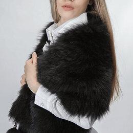 Шарфы, платки и воротники - Меховой ларец накидка из норки, меховая накидка, меховой шарф накидка , 0