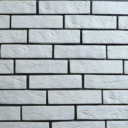 Клинкерная плитка - Плитка декоративная 'Кирпичики' белый (набор 1м2), 0