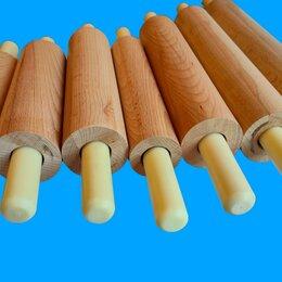 Скалки - Скалка для теста деревянная., 0