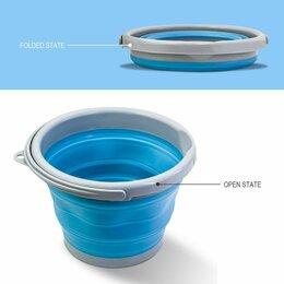Туристическая посуда - Ведро складное york 10 л синее, 0