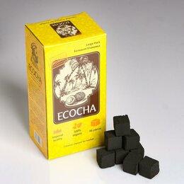 Уголь - Кокосовый уголь для кальяна Ecocha, 96 кубиков, 0