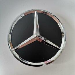 Шины, диски и комплектующие - Колпачок для диска Mercedes01405 - benz (black) 75mm,, 0