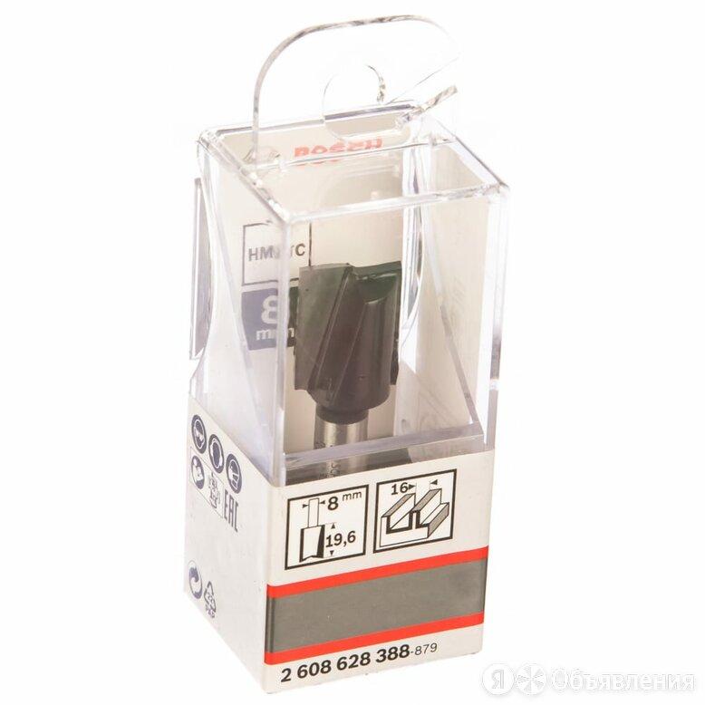 Пазовая фреза по дереву Bosch 2 лезвия, хв-8мм, ф16х20мм 2608628388 по цене 569₽ - Принадлежности и запчасти для станков, фото 0