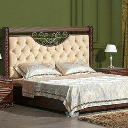 Кровати - Классическая двуспальная кровать Берта (180*200), 0