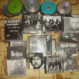 Музыкальные CD и аудиокассеты - CD / DVD диски с разными записями фильмов и музыки , 0