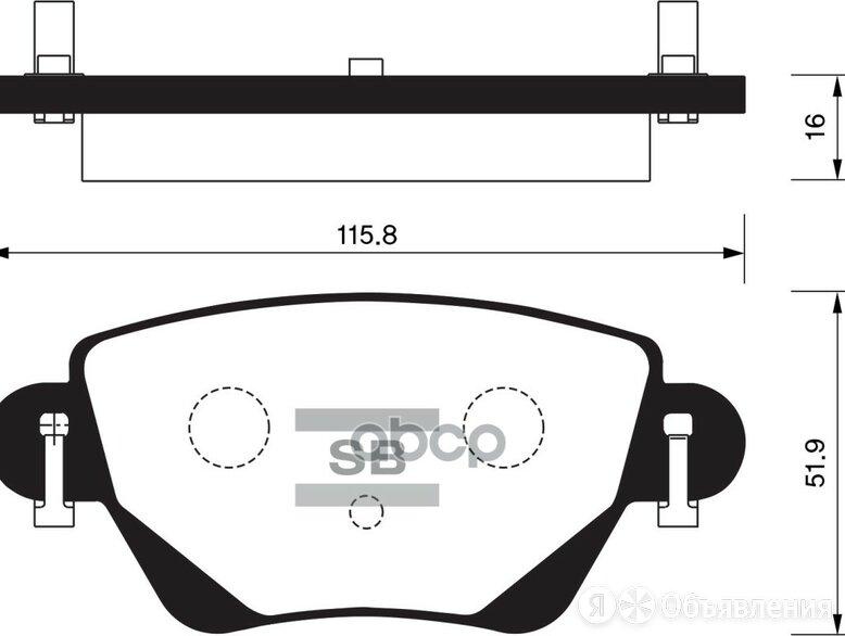 Колодки Тормозные Задние Sangsin brake арт. SP2031 по цене 1380₽ - Тормозная система , фото 0
