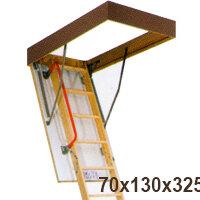 Кровля и водосток - Лестница 70х130х325 LWK KOMFORT, 0