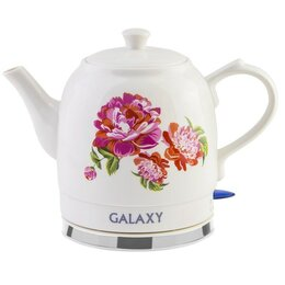 Электрочайники и термопоты - Чайник электрический Galaxy GL-0503 (диск, 1,4л) 1,4кВт, керамич.корпус, 0