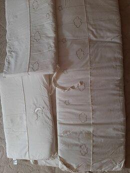 Аксессуары для безопасности - Бортик на детскую кроватку из 4 частей, 0