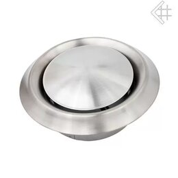 Товары для электромонтажа - Анемостат стальной д.100, 0
