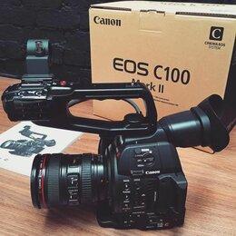 Видеокамеры - Кинокамера Canon C100 Mark II, 0