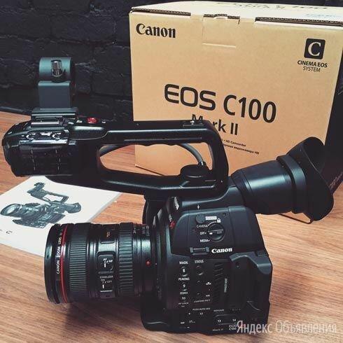Кинокамера Canon C100 Mark II по цене 158000₽ - Видеокамеры, фото 0