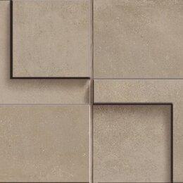 Мозаика - CERDOMUS Chrome Mosaico 3D Taupe 12,5X25, 0