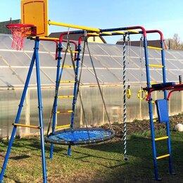 Игровые и спортивные комплексы и горки - Детская игровая площадка, 0