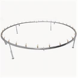 Декоративные фонтаны - Фонтанное кольцо Reexo Fontana Corona, ø=3,5 м, 50 мм, на 48 форсунок, AISI-304, 0