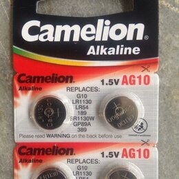 Батарейки - Батарейка AG10 / LR1130 / 389 Camelion 1.5V, 0