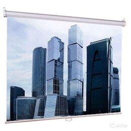Аксессуары для проекторов - Экран для проектора 180см. Рулонный, настенно-пото, 0
