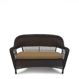 Диваны - Плетеный диван LV130-1 Brown/Beige, 0