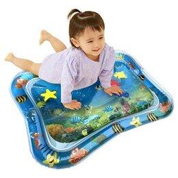 Развивающие коврики - Развивающий водный коврик (Океан)Надувной коврик для малышей, 0