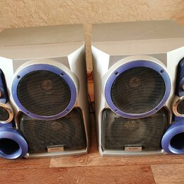 Музыкальные центры,  магнитофоны, магнитолы - Колонки SHARP CP-XP500, 0